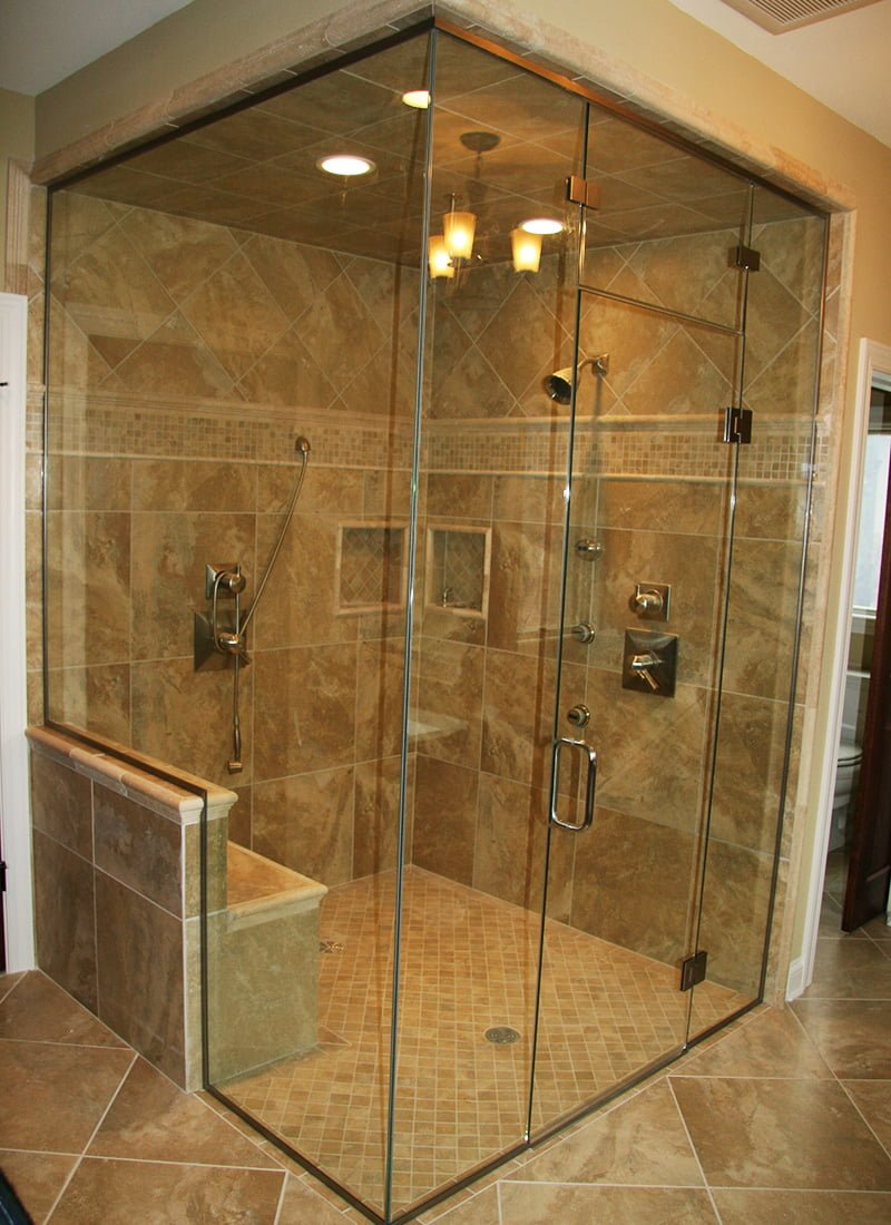 Residential Shower Doors Hellenbrand Glass Madison Wi
